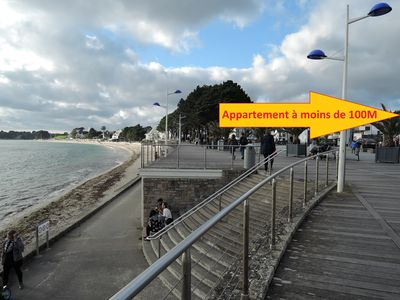 Photo for Less than 100m from the beach T3 Duplex expo South 2/4/6 people, parking