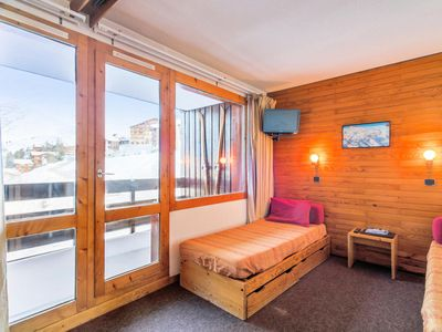 Photo for Studio 28 m² at the foot of the slopes in Belle Plagne - Maeva Individuals - Studio for 5 people Budget