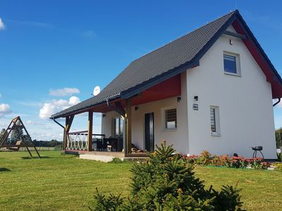 Photo for Fantastic house, located among meadows and nature, 3 km from the sea