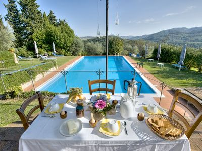 Photo for CHARMING VILLA near Volterra with Pool & Wifi. **Up to $-1723 USD off - limited time** We respond 24/7