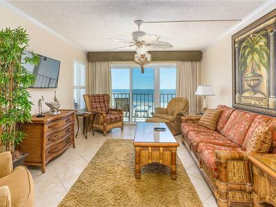 Photo for Family Friendly Direct Ocean View Condominium! Pool, Beach Access, Fitness Center, Tennis