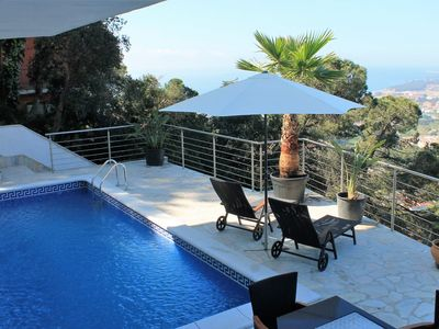 Photo for Club Villamar - Luxurious new-build villa with modern interior for twelve people, with private sw...