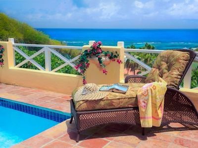 Photo for Romantic Villa, Private Pool, Magnificent Ocean View. Wi-Fi & Good Cell Service.