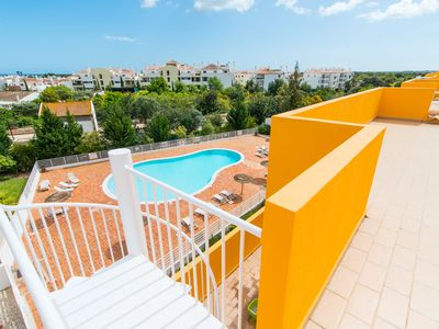 Photo for Royal Cabanas Golf Penthouse T3 with pool view