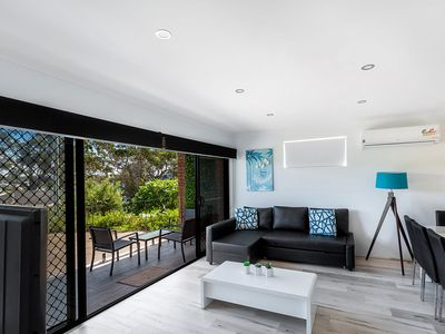 Photo for Stylish Modern Duplex Close to Beach and Shops