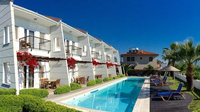 Photo for AmberVilla 2 - Huge Pool, all bedrooms en suite, close to center town Dalyan