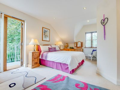 Photo for The Lavender Room is a cosy first floor apartment and set in a rural location yet is less than a mil
