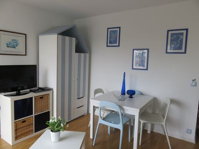 Photo for Sunny 2-star apartment in a Norman-style residence + Wi-Fi