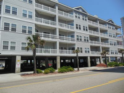 Photo for Spacious 6BR Two-story Ocean View Condo Steps to the beach