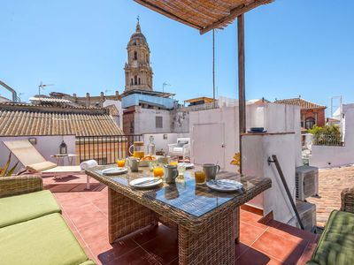 Photo for Siglo - Holiday penthouse in Malaga