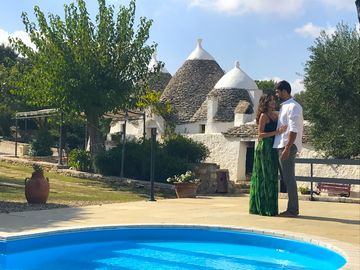 Trullo - private heated pool - air cond - drone tour & walkthrough available!