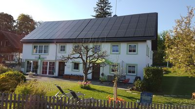 """Photo for Cottage """"Ferienhaus Carin"""" with Wi-Fi, Garden and Close to the Shore; Parking Available"""