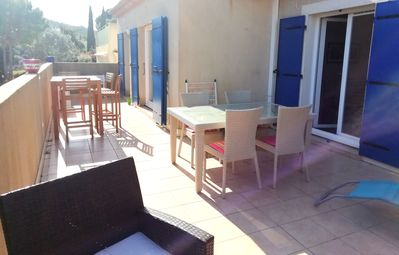 Photo for House 80m ², bright, comfortable, large terrace. Quiet 20 minutes from the sea
