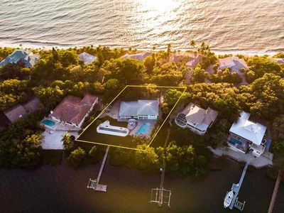 Bay Front Home Pool, Shuffleboard, Fire Pit, Docking, Beach Access