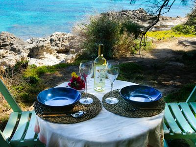 Photo for Authentic country house in Formentera with serv. cleaning + extras. Cala Sahona