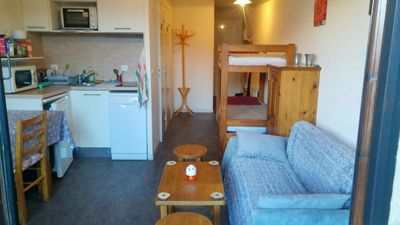 Photo for Homerez last minute deal - Nice apt with mountain view