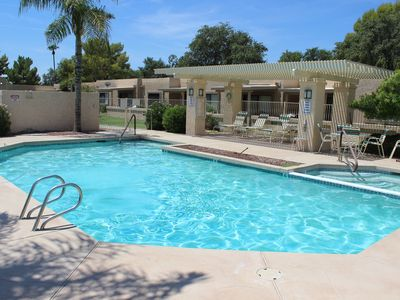 Photo for Renovated 2 bdrm, 2 bath casita in Westbrook Village with pool/hot tub