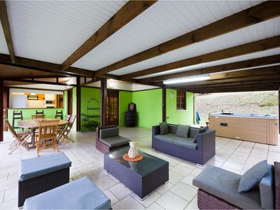 Photo for Villa Petit Paradis on the commune of carbet sea view of the caribbean