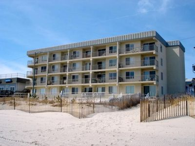 Photo for WESOME BEACHFRONT CONDOMINIUM directly on the beach and located in the heart of Sea Isle City.