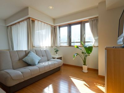 Photo for Large Cozy Studio at Central: 1 minute from Akabanebashi Station, a super comfortable room in quiet Azabu