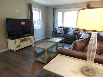 Who wouldn't want to rest in this updated space after a day at Cedar Point?
