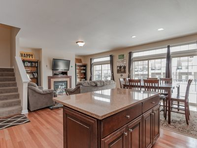 Photo for Notre Dame game day event house: CLOSE, large, fully loaded, 4 bed/4.5 bath