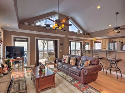 Photo for Beech Mountain Home w/Sunset View by Skiing+Hiking