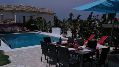 Photo for BEAUTIFUL VILLA WITH PRIVATE POOL AND 5 MINUTES WALKING TO THE BEACH