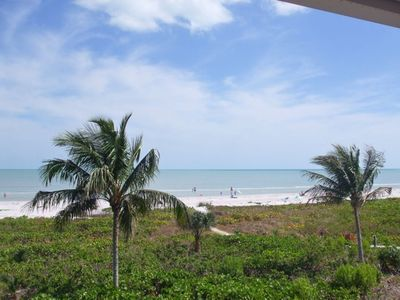 Your short path to gorgeous Sanibel Beach...just steps from your condo