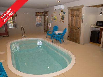 Photo for Serene Oasis a brand new 4BR cabin with indoor pool.