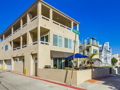 Photo for Wrap Around Deck with Ocean Views in Popular Mission Beach.
