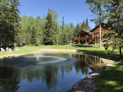 Photo for Luxury Home on Glacier Tamarack offers Tranquility,  Sleeps 12