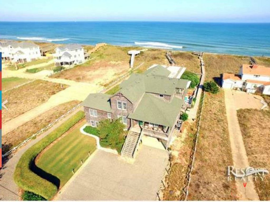 Oceanfront Nags Head Home Crawford Cottage Vrbo