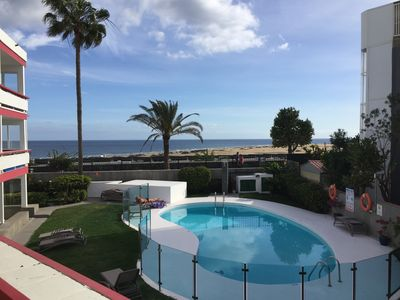 Photo for Sea view Apartment, Playa del Ingles- Dunas Maspalomas