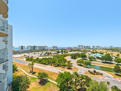 Photo for Gulf Views! HUGE Lagoon Pool!☀2 Step Sanitizing Process☀Palms Resort 2906 Jr 2BR