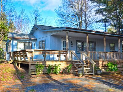 Photo for The Mountain House is a two-bedroom, two-bath home perfect for the family!