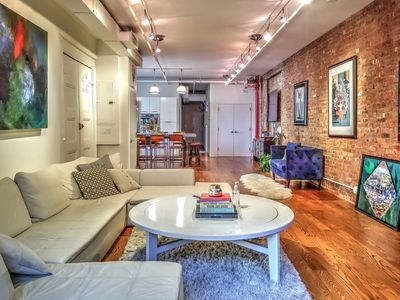 Photo for Authentic newly renovated 2,000 sq ft. loft in the heart of Soho