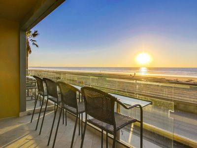 Photo for Ocean Front + Exclusive View Patio in ❤ of MB