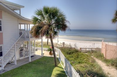 View from Balcony/Deck with direct access to the beach