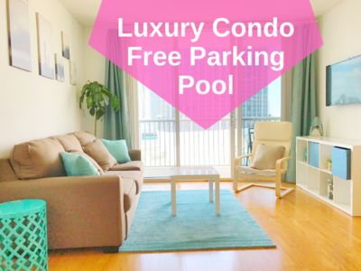 Photo for Opera Tower: Luxury 1bd Condo, Free Parking, Pool