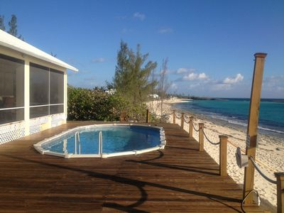 Photo for Bella Mare' | Bahamas Oceanfront Rental with Fresh Water Pool