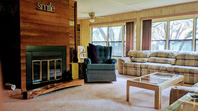 Photo for Lake Kerr Canal Front Home with Fireplace in the Heart of Ocala National Forest
