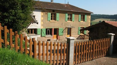 Photo for THE COTTAGE BATTEUSE A ECOCHE (Loire) - Capacity 12 people home