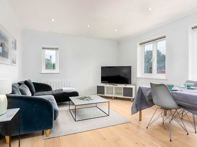 Photo for Weavers Garden apartment in Hackney with .
