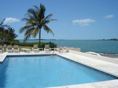 Photo for Water Front Property*Saltwater Pool*Gated*Boat Dock