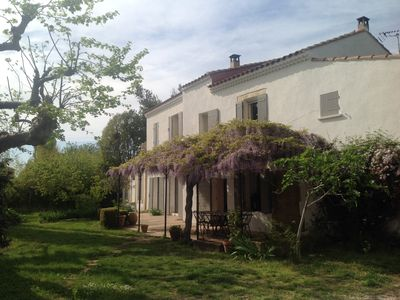 Photo for Provencal farmhouse near Arles Camargue Alpilles