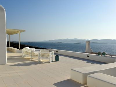 Photo for Sea front villa, private pool, walking distance to the beach, brand new