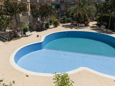Photo for Luminous apartment for 6 pax. with pool in the center of Salou