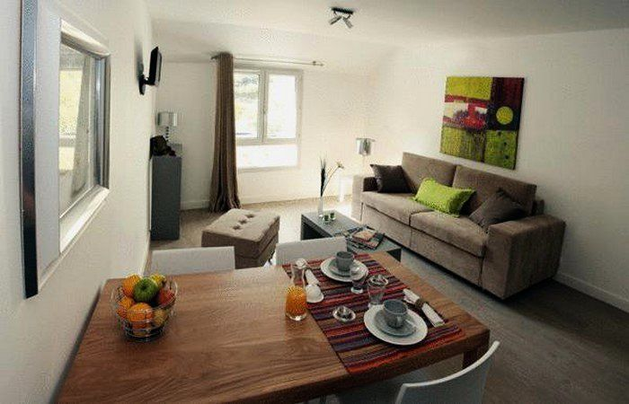 Appart 39 h tel lorda studio 4 personnes lourdes for Appart hotel amsterdam 5 personnes
