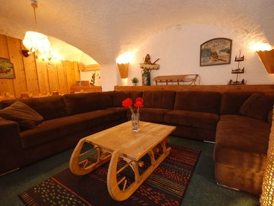 Photo for Magnificent Apartment Les Chardons 8 people of 120 m2 of full foot in 3mn of the slopes of Serre-Cheval